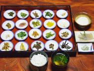「檜」 山菜22品